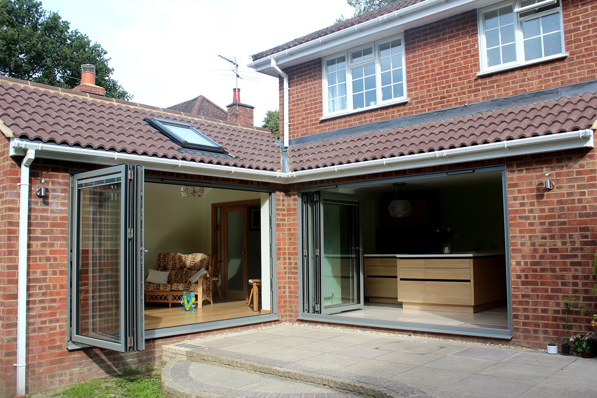 Kitchen and garden room extension inspired building for Room extension plans